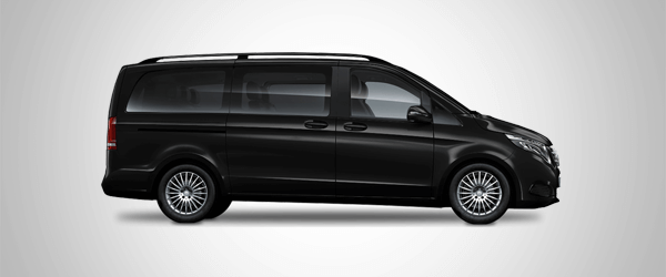 Minibus Mercedes Vito for up to seven passengers
