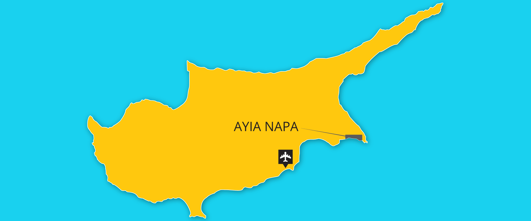 Ayia Napa transfers from airport