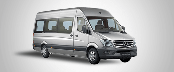 Minibus Mercedes Sprinter for up to 10 passengers