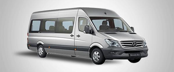 Minibus Mercedes Sprinter for up to 12 passengers