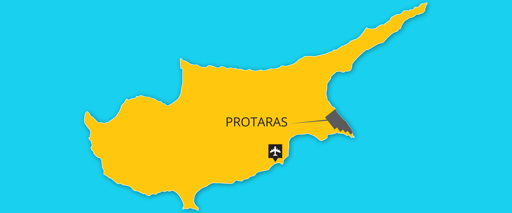 Protaras area transfers from airport