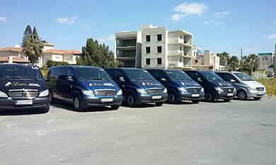 Larnaca airport minibuses